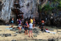 Klettern am Railay Beach
