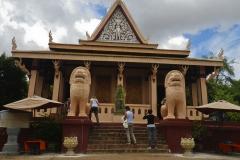 Eingang Wat Phnom