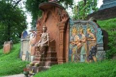 Schrein am Wat Phnom