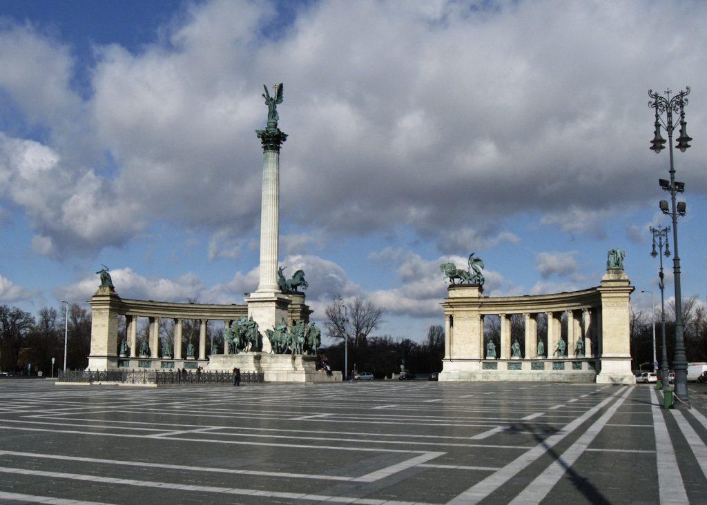 Der Heldenplatz, Februar 2009.
