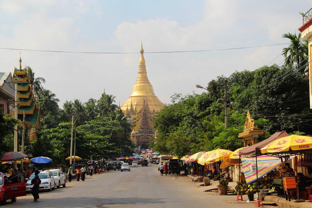 Shwedagon Pagoda in Myanmar, Orkun A., 12/13.