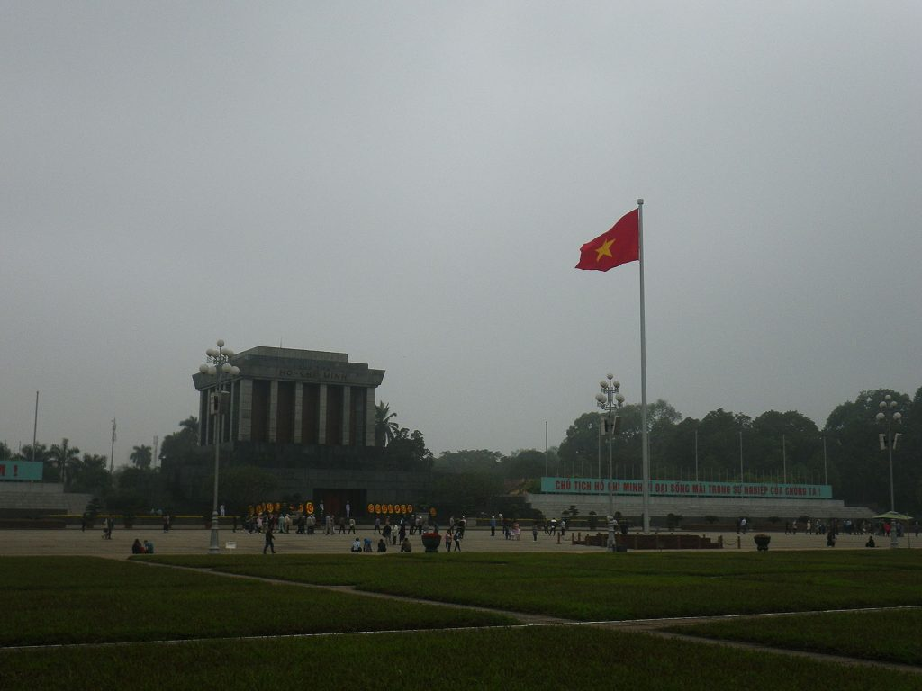 Ho-Chi-Minh-Mausoleum, 03/16.