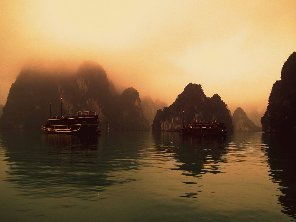Ha Long Bay, 2012.
