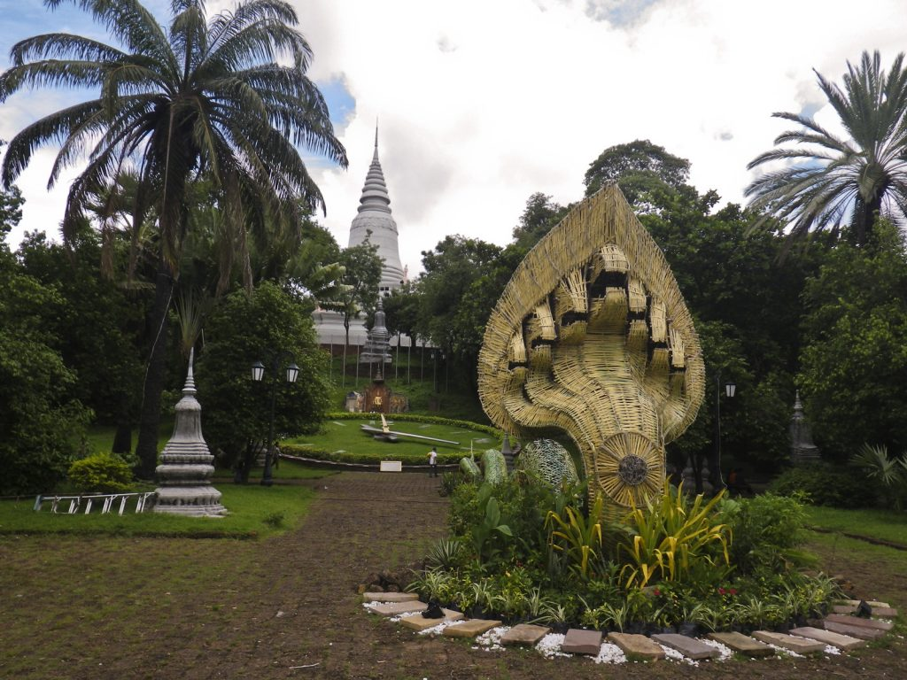 Wat Phnom Daun Penh in Phnom Penh.
