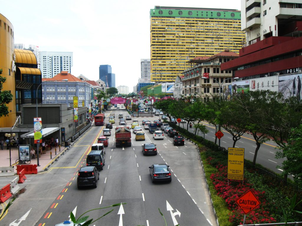 Verkehr in Singapur
