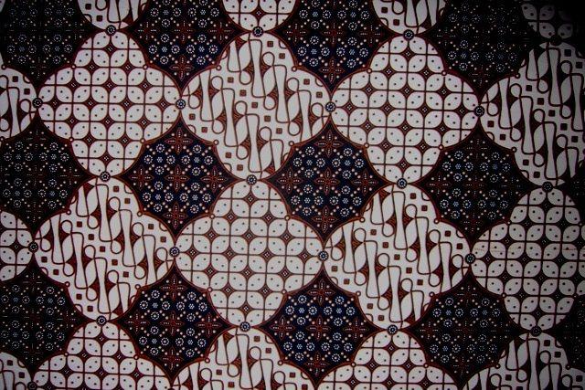 Batikmotiv aus Yogyakarta