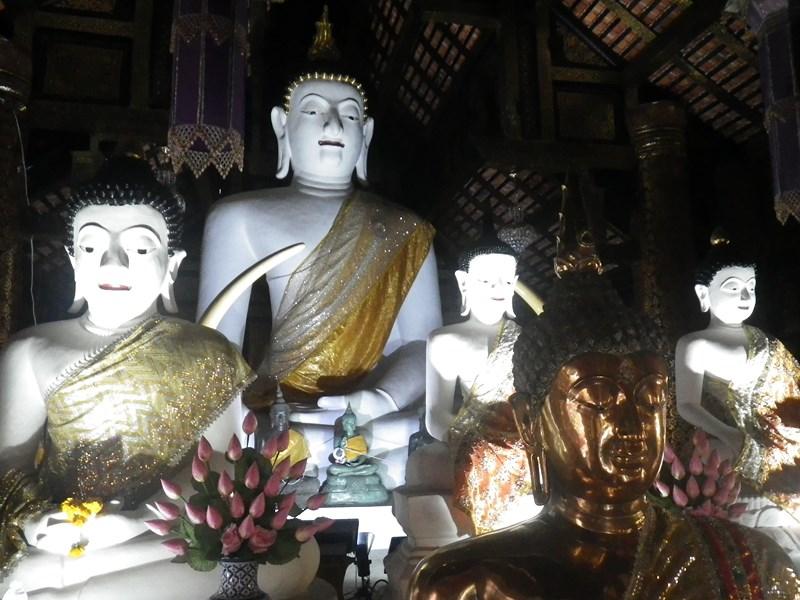 Buddhafiguren in Chiang Mai