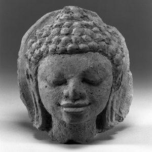 Buddha-Kopf der Dvaravati-Periode