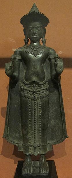 Khmer-Buddha aus dem 12. Jahrhundert