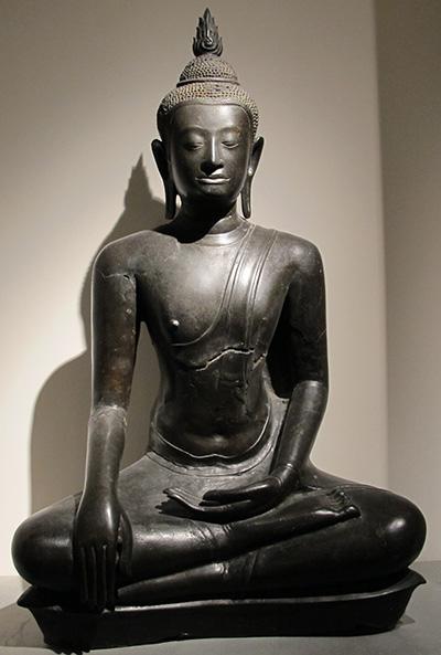 Buddha im U-Thòng-Stil.