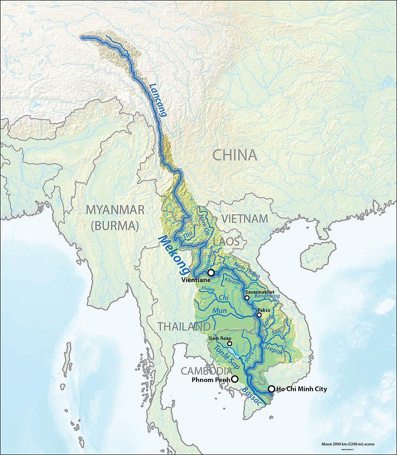 Mekongverlauf