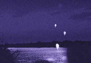 Naga-Feuerbälle