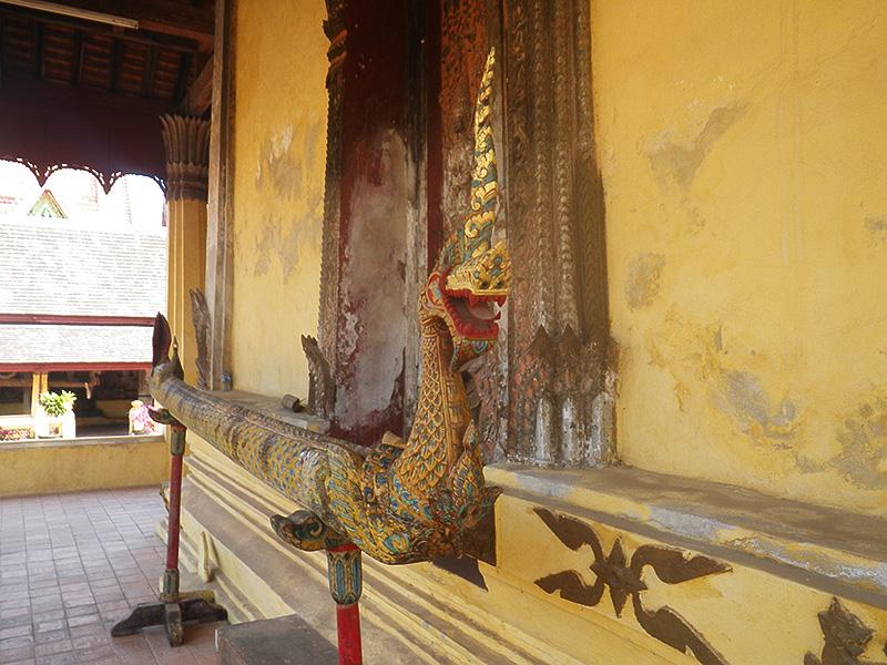 Phraya Naga im Wat Si Saket