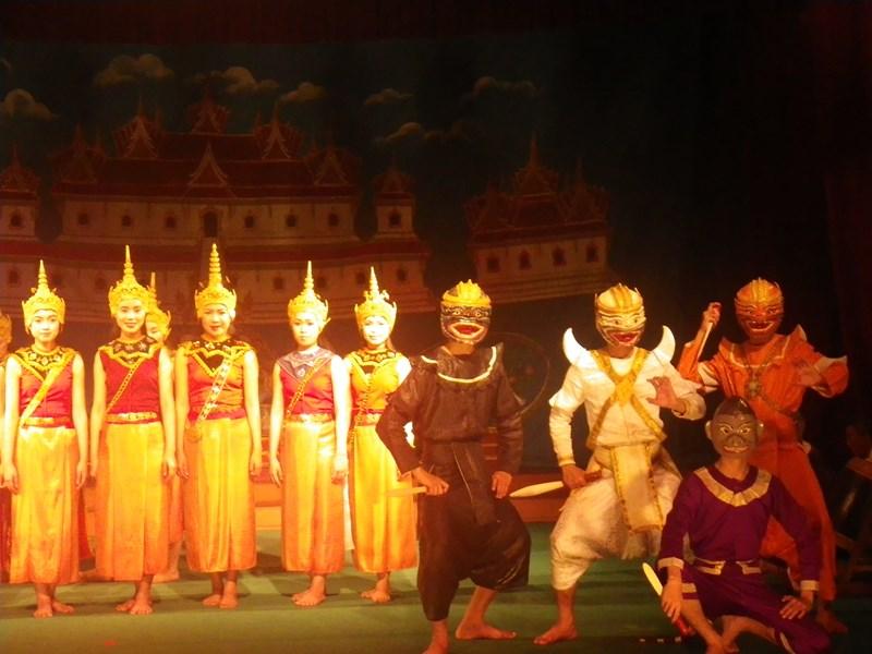 Ramakien-Aufführung