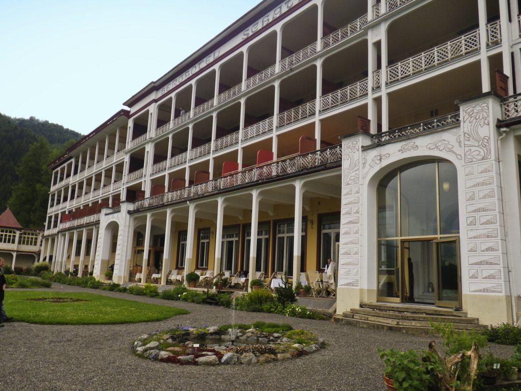 Ein ehemaliges Sanatorium