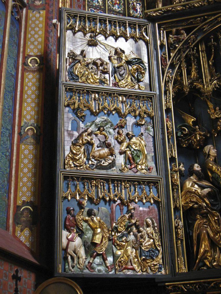 Linke Seite des Altars