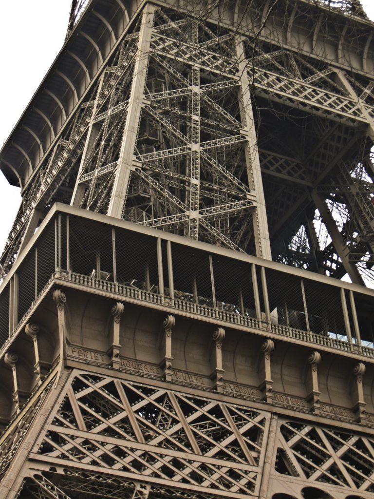 Eiffeltturm nah