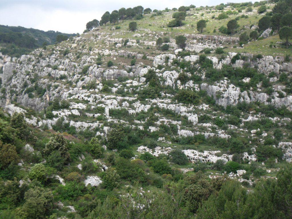 Nekropole bei Pantalica