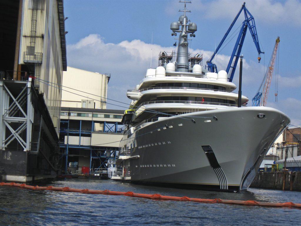 Abramowitsch-Yacht
